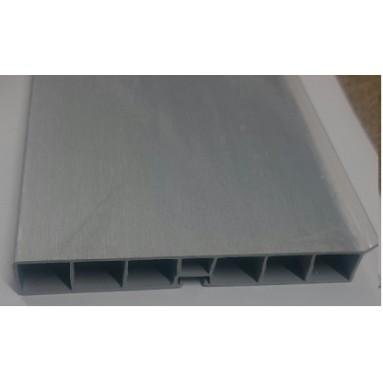 Cokolis apatinis H100/150 INOX/baltas/pilkas