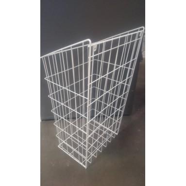 Krepšys skalbiniams 40 baltas