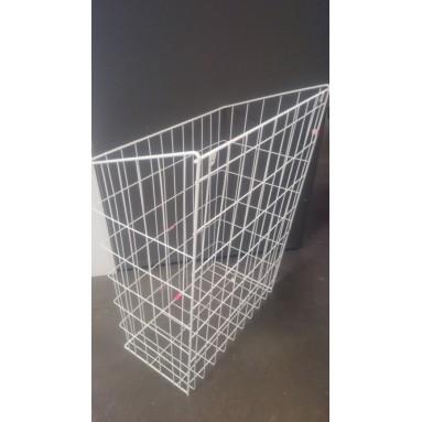 Krepšys skalbiniams 50 baltas