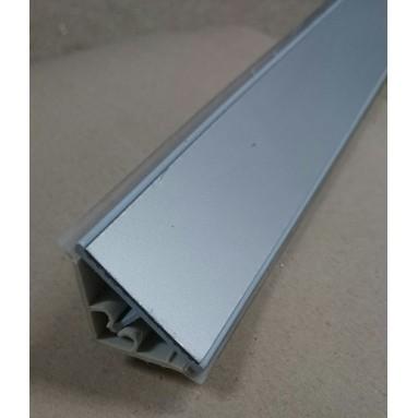 PVC staljuostė su lam. L-3050mm aliuminė